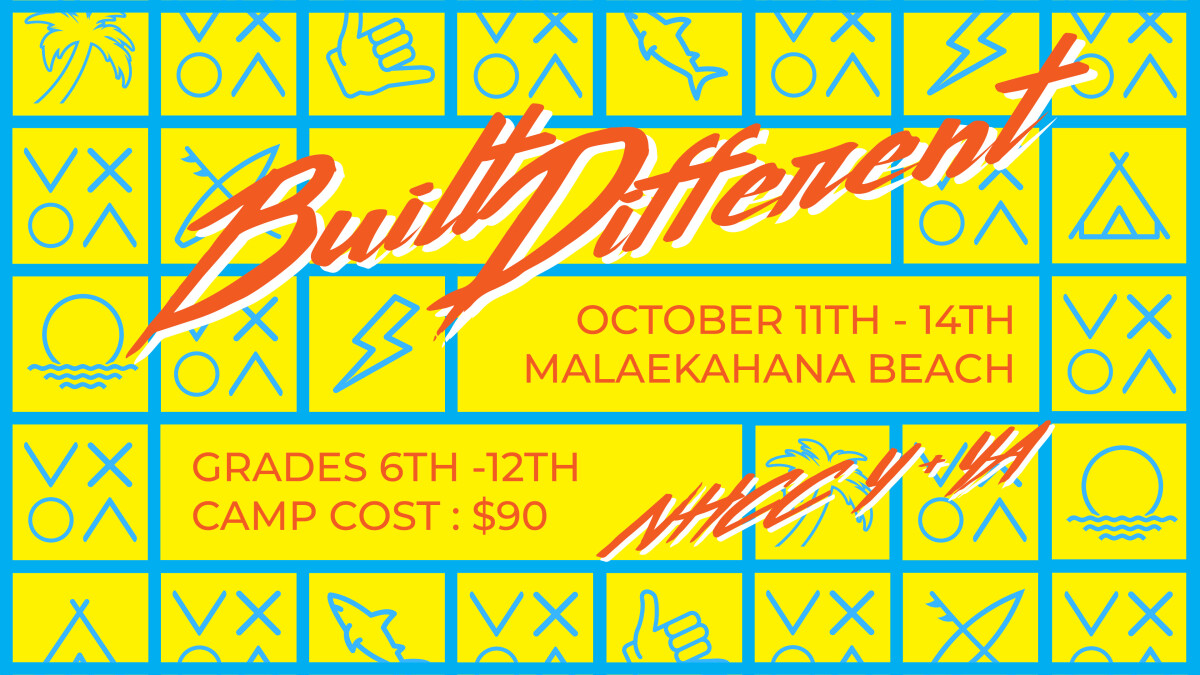 """""""Built Different"""" Youth Fall Camp"""